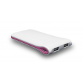 Oaxis Xtus E50 Mobile Powerbank E50 5000Mah - White Pink (Original)